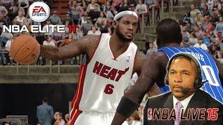 NBA ELITE 11 - (XB360) - 1080p HD - Will EA Add Mark Jackson to NBA Live 15?