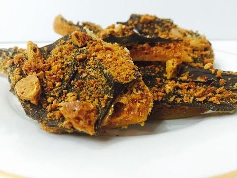 Sponge Toffee/Honeycomb (Homemade Crunchie)