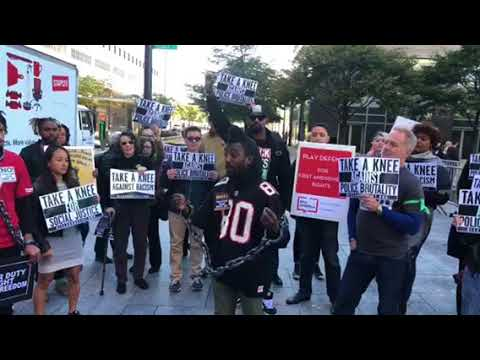 NFL Protesters Give Speeches At Owners Meeting