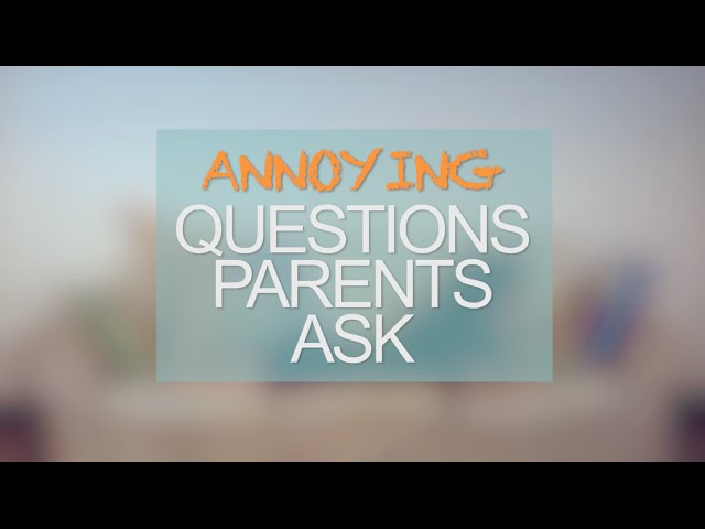 Annoying Questions Asian Parents Ask (Comedy Skit)
