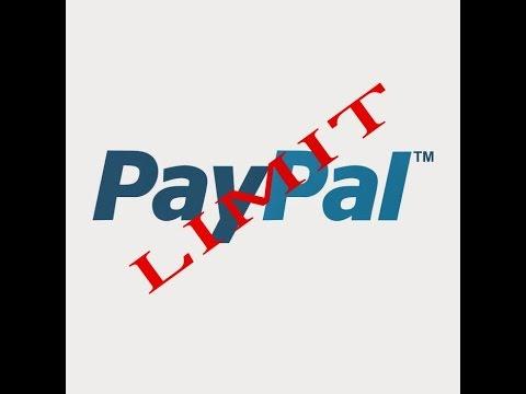Лимиты на вывод средств из системы PayPal