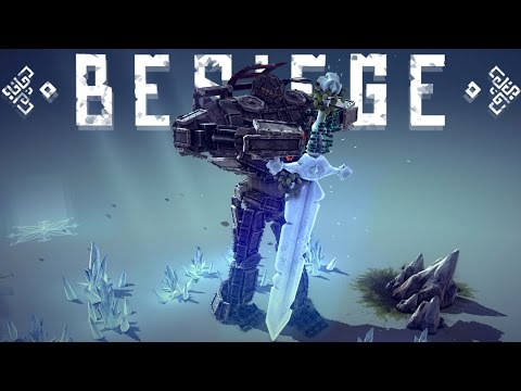 Besiege Best Creations - AMAZING Bipedal Walker, Army of Knights & More!