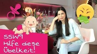 9. SSW | Hilfe, diese Übelkeit! | Schwangerschaftsupdate