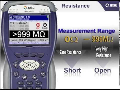 JDSU HST 3000 - Resistance Testing