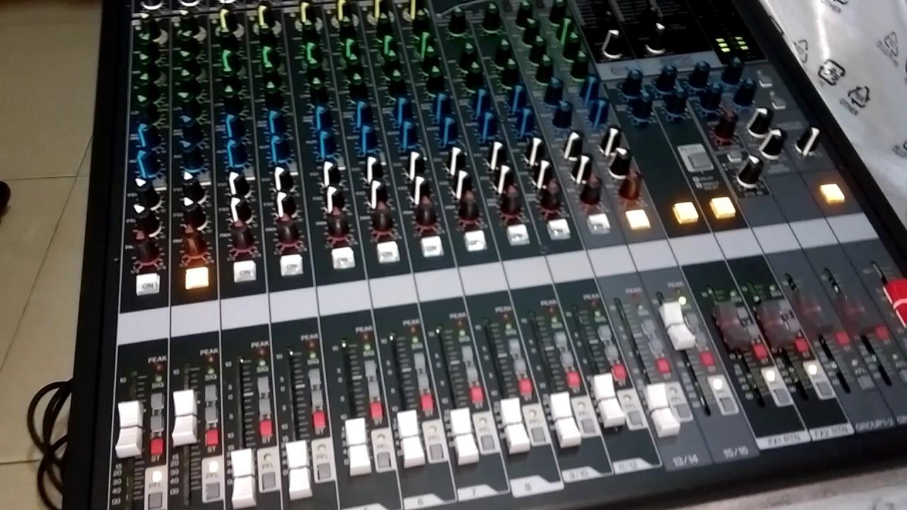 Mixer Yamaha Mgp 16x P Hp Ht Th Karaoke Trong Nh Youtube Mgp12x