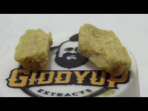 Giddy Up Extracts Grape Ape Live Resin from Nevada Medical Marijuana Las Vegas