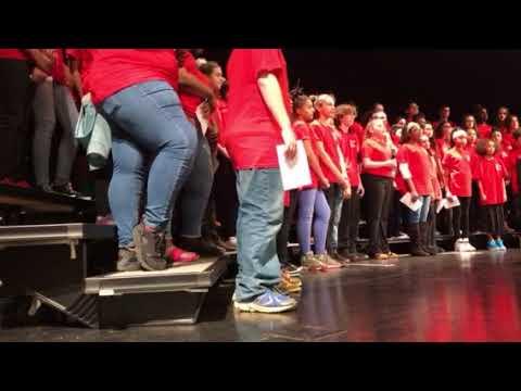 James Breckinridge Middle School - Winter Choir Concert 2018 - Part 2