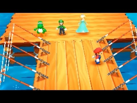 Mario Party: Top 100 - Luigi wins by doing absolutely nothing.