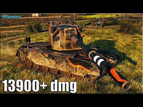 13900+ dmg С КУСТА на БАБАХЕ ? FV4005 Stage II World of Tanks thumbnail