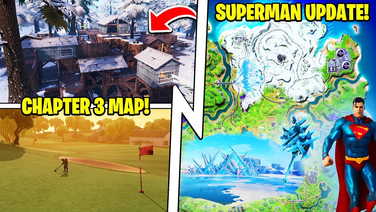Superman's Fortress (SOON!), Chapter 3 MAP Leak, Team Rumble Update!