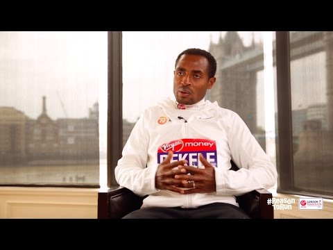 'The crowds are crazy' - Kenenisa Bekele ahead of Virgin Money London Marathon