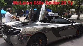 """Siêu Phẩm """"Dubai"""" McLaren Của Mr. Cường Biến Hình 2 Lần Trên Phố"""