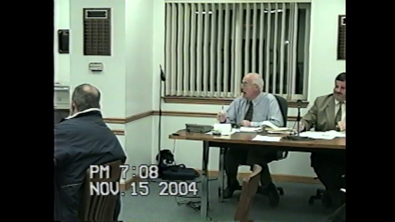 Rouses Point Village Board Meeting  11-15-04
