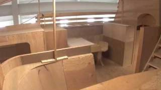 Part 1: Lyman-Morse Boatbuilding Construction of Deerfoot 70