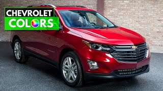 2018 Chevrolet Equinox Colors