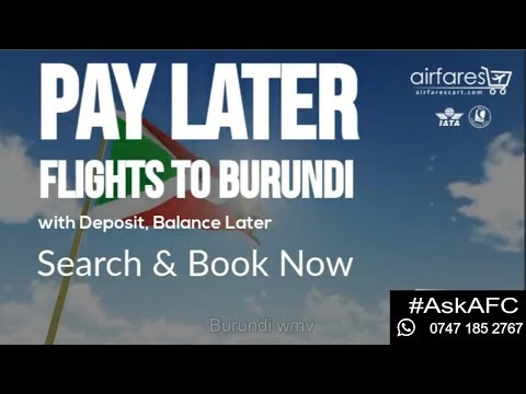 Flights to Burundi