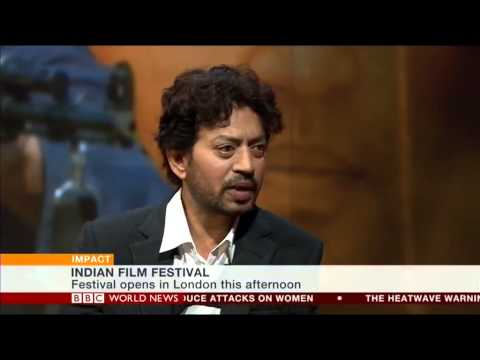 Bollywood Star Irrfan Khan on BBC World News