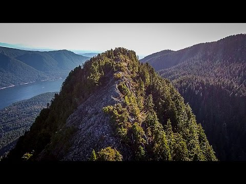 Epic Aerial Views - Garibaldi Mountain Range