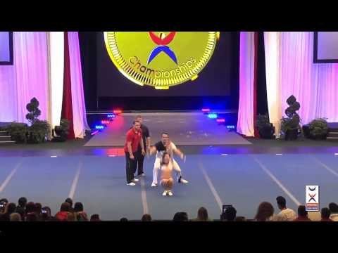 Team Germany Partner Stunt - Cheer Worlds 2014
