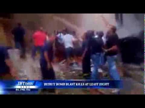 Beirut bomb blast kills at least eight