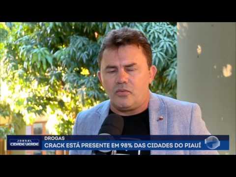 Crack está presente em 98% das cidades do Piauí; Veja