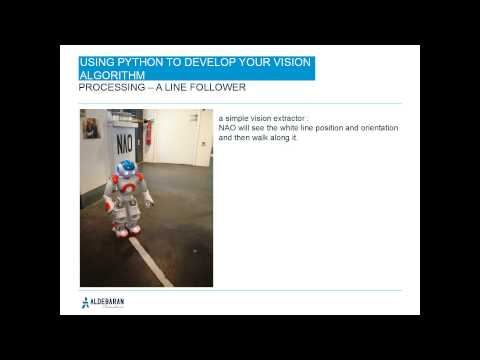 Webinar: Using python to develop your vision algorithm on your robot