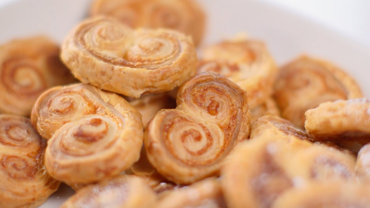 How to make and shape palmier biscuits bbc good food youtube how to make and shape palmier biscuits bbc good food forumfinder Gallery