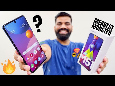 Samsung Galaxy M51 Unboxing & First Look - The Meanest Monster Ever???🔥🔥🔥