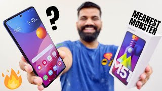 Samsung Galaxy M51 Unboxing & First Look - The Meanest Monster Ever???