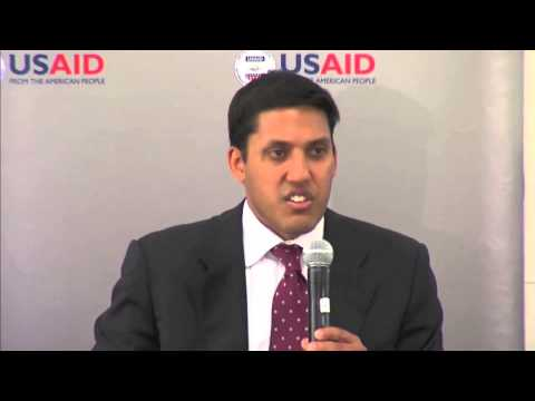 2013 Global Diaspora Forum: Dr. Raj Shah, Administrator, USAID