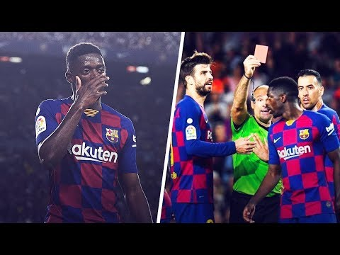 what-did-ousmane-dembélé-say-to-the-referee-to-get-sent-off?!- -oh-my-goal