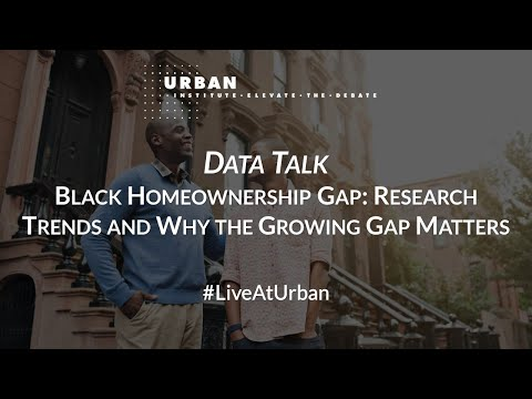 Black Homeownership Gap: Research Trends and Why the Growing Gap Matters