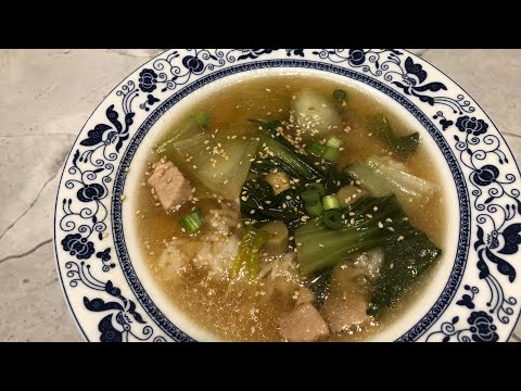 How To Make Chicken And Bok Choy Soup