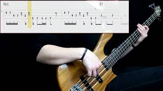 James Gang - Funk #49 (Bass Cover) (Play Along Tabs In Video)