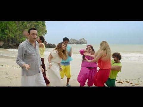 رقص مسخرة لدنيا سمير وهنا الزاهد في اجمل مشاهد في اللالالاند بعد ما اكلوا من شجرة حشيش😁😂😁😂