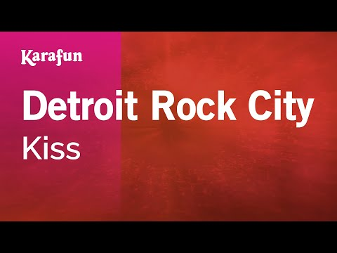 Karaoke Detroit Rock City - Kiss *