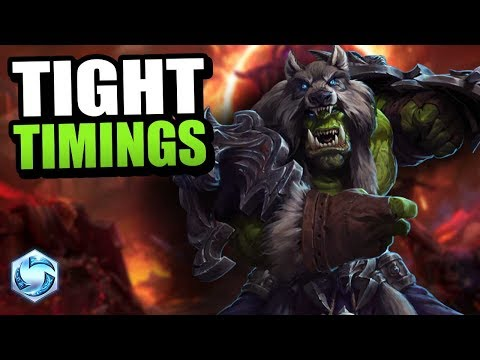 Rehgar - timing is hard // Heroes of the Storm