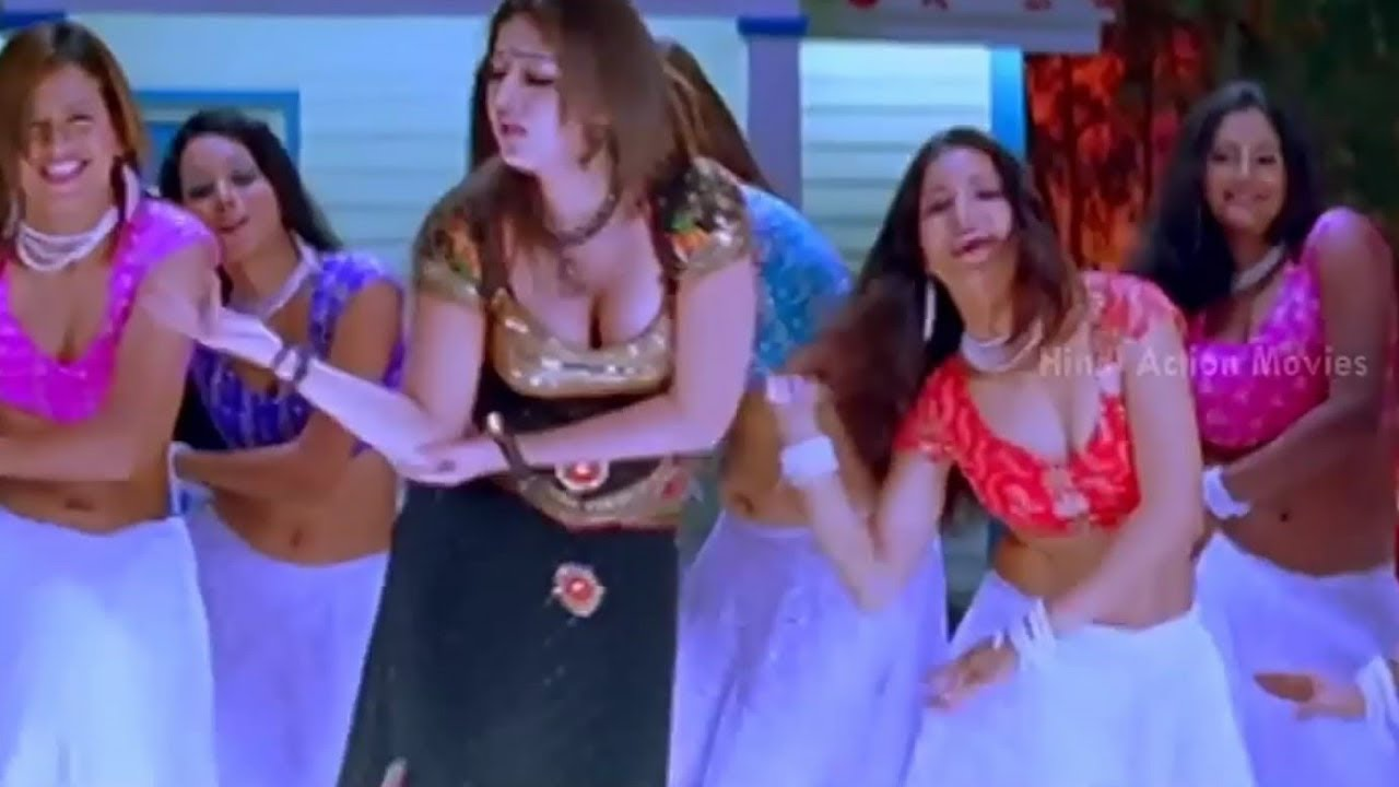 Nayanthara Hot Hindi Song Laxmi Babu Nayanthara Dubbed Hindi Song Full Hd 1080P - Youtube-7503