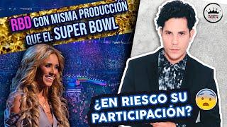 POLÉMICA CON CHRISTIAN CHÁVEZ ❗️/ Concierto de RBD a la altura del Super Bowl y Katy Perry