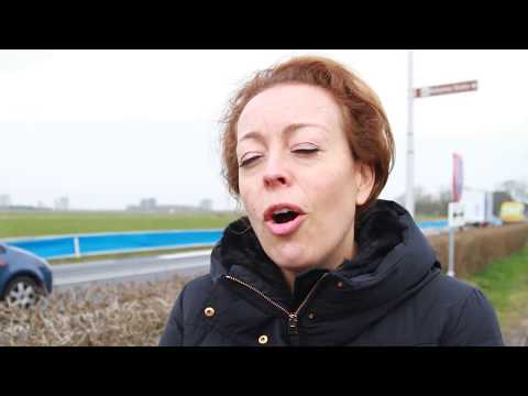 Singing road in the Netherlands (Jelsum) - Included quotes - VIDEO FOOTAGE