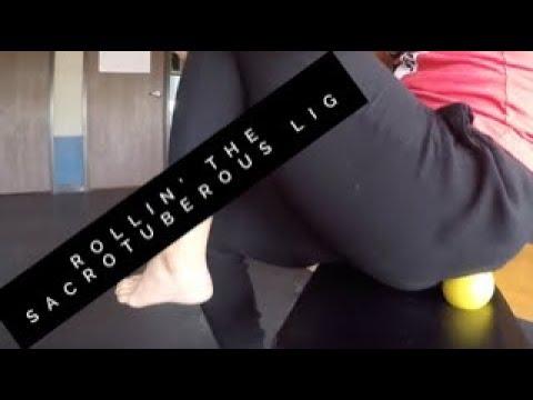 E16: Hip Massage - Sacrotuberous Ligament - YouTube