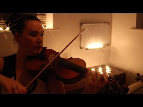 Sad Romance Solo Violin Performed on a Mendini MV300