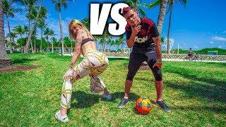 FÚTBOL VS TWERK - Fútbol Freestyle VS Twerk Freestyle