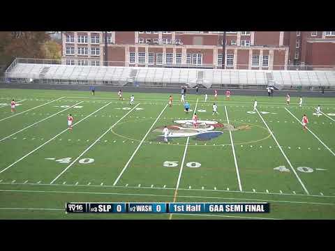 #3 St. Louis Park vs #2 Mpls.Washburn 6AA Boys Soccer Semi Final 10/14/17