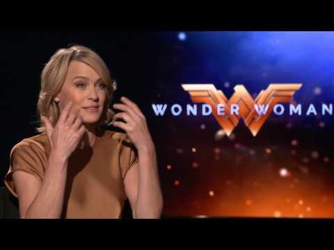 Wonder Woman Interview - Robin Wright