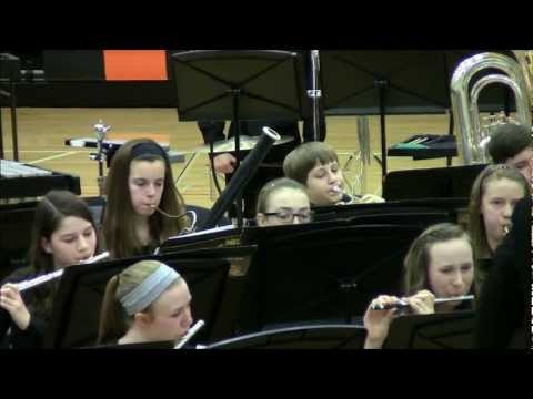 2013-02-15 - IGSMA: Parkside Junior High School Python Honor Band (Condensed)
