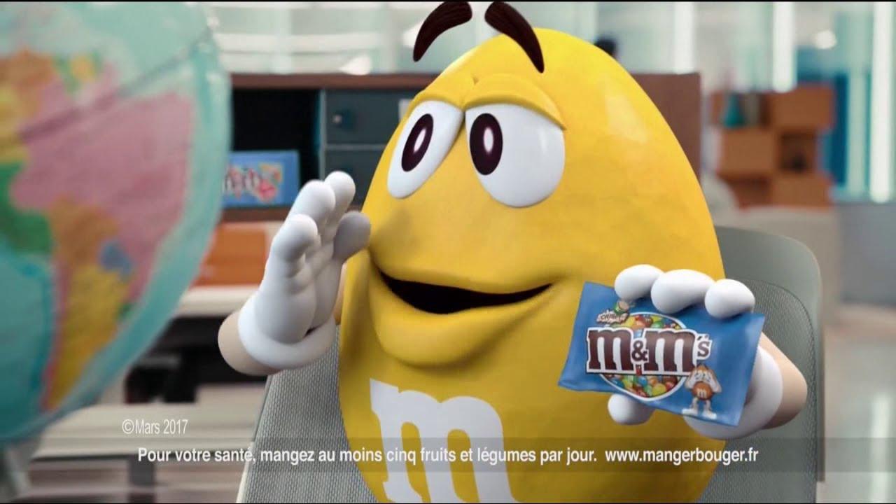 """M&M's Crispy """"les M&M's Crispy sont là!"""" - Publicité 0:20"""