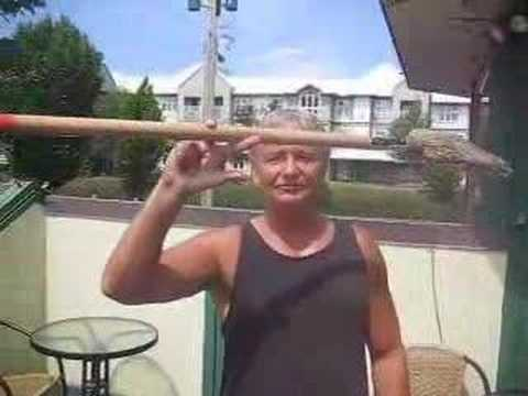 My dads crazy broom trick