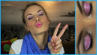 Barbie Makeup Tutorial! Barbie Doll Princess Makeup - Best Romantic Fun Colorful Makeup Look