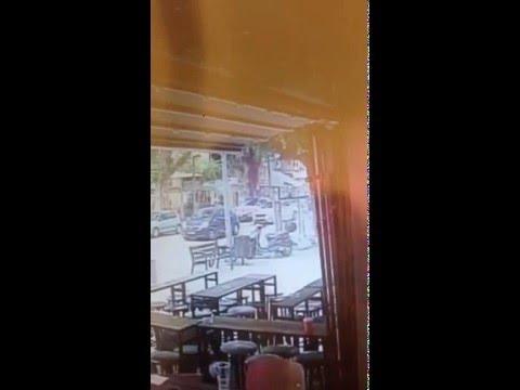 תיעוד פיגוע הירי בתל אביב - תיעוד דרמטי מדיזנגוף בתל אביב